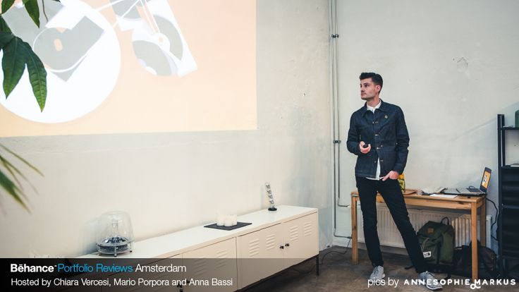 #JeroenKrielaars presenting at #BehanceReviews in Amsterdam  www.behance.net/calango  See more pics at http://on.fb.me/1Mm0k5n