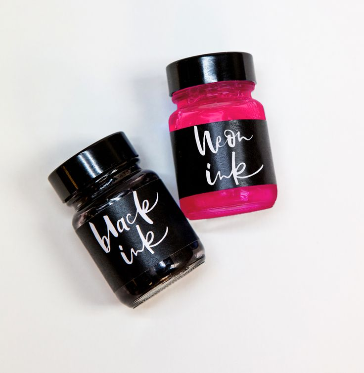 The Neon + Black ink pack are a superb, quirky gift for a calligraphy enthusiast, or just to extend your own practise.