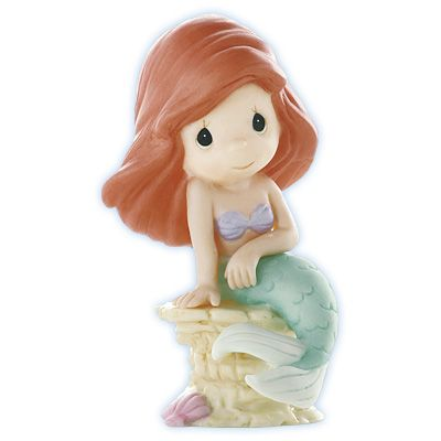 Precious Moments Figurines   Precious Moments Disney Collection - Ariel Figurine - Oceans Of Love ...