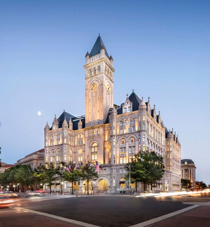 Trump International Hotel, Washington, D.C., is officially open for business!