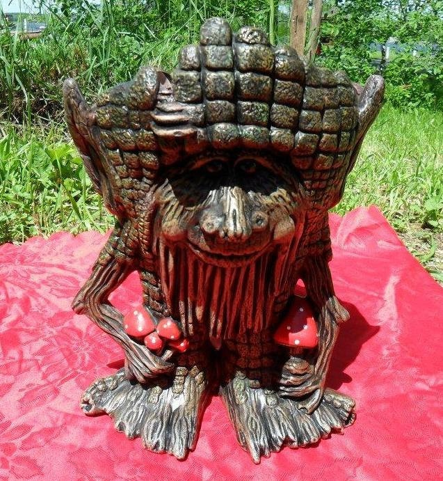 Ceramic Painted Ent Fantasy Planter - Large. $42.00, via Etsy.
