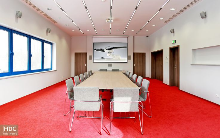 Conference room in Częstochowa / Poland.  #hdcinema #cinema #conferenceroom #conference #office #design #architecture