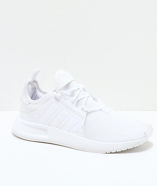 ace4f8bb3478c8 adidas Xplorer All White Shoes