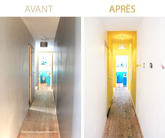 7 best deco couloir images on Pinterest Interior doors, Color - plan maison sans couloir