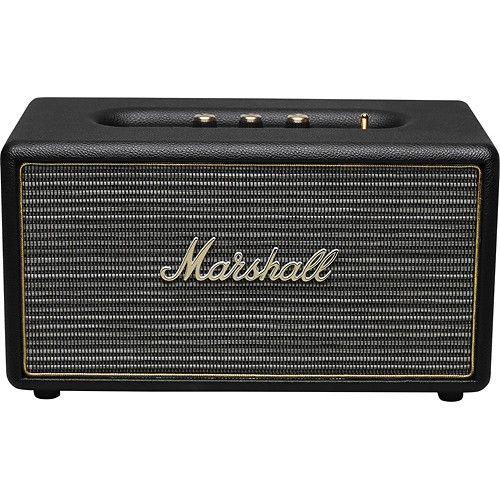 Marshall Stanmore Bluetooth Speaker: Enjoy your music in crisp detail with this speaker, which offers powerful sonic output and delivers clear audio via custom dynamic drivers. The iconic, vintage-inspired design transports you back to the golden age of rock and roll.