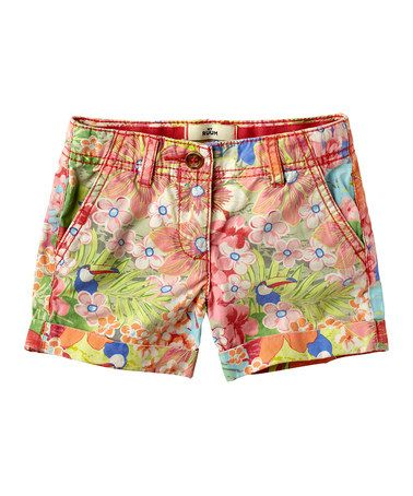 Another great find on #zulily! Guava Jam Floral Shorts - Infant, Toddler & Girls by RUUM #zulilyfinds