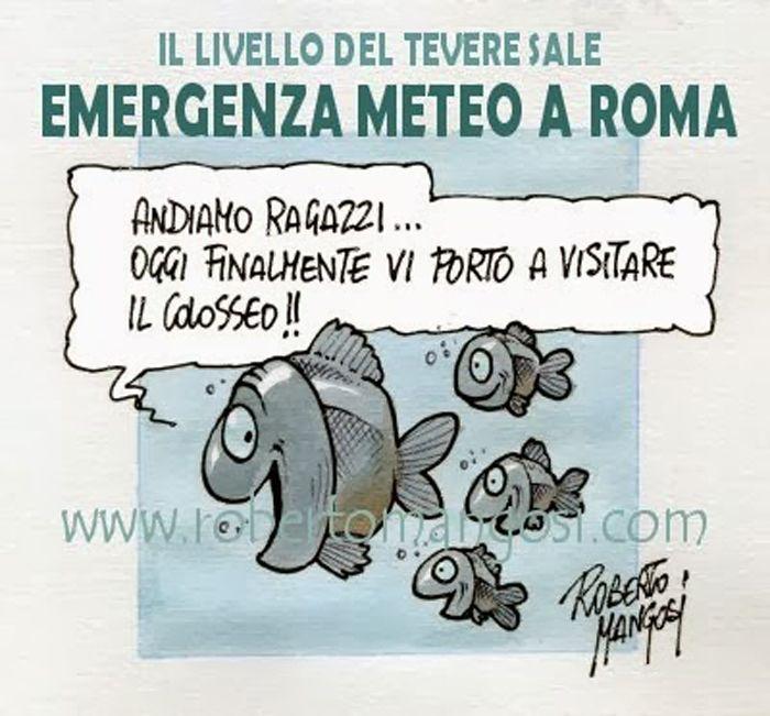ITALIAN COMICS - A nuoto, con energiche bracciate, verso Montecitorio…