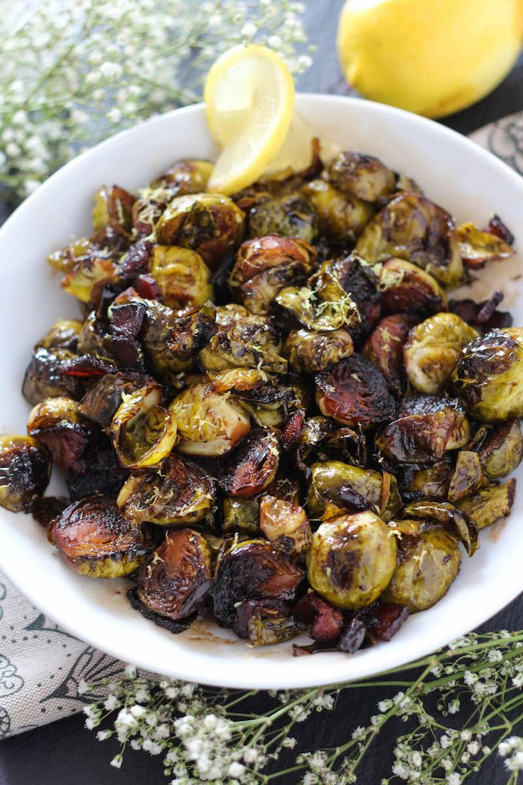 PaleOMG Spicy Candied Brussels Sprouts