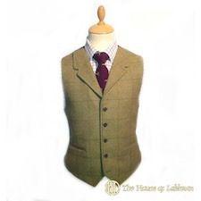 Scottish bias cut kilt tartan and Scottish tweed waistcoats made to order.