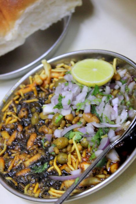 Nashik Famous Misal Ambika http://justnashik.com/2013/07/14/justnashik-food-review-famous-misal-pav-in-nashik-city-part-2-ambika-misal/
