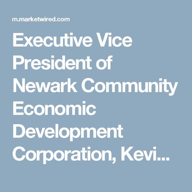 Executive Vice President of Newark Community Economic Development Corporation, Kevin Seawright, Recognized by Notre Dame's Executive Leadership Program