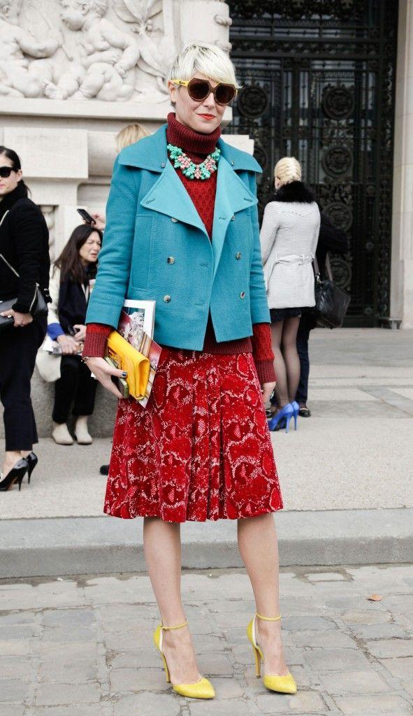Style Spotlight: Color Queen Elisa Nalin.