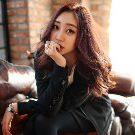 Korea Woman Big size clothing shop. [Jstyle] Bit raising V1021 epi set / Size : L,XL,2XL / Price : 56.16 USD #dailylook #OOTD #JSTYLE #plussize #loosefit #large #xlarge #trainingwear #pants #jacket