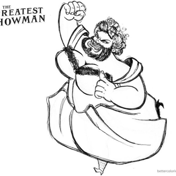 The Greatest Showman Coloring Pages Lettie By Christine Dominguez Art Coloring Pages Coloring Pages For Kids The Greatest Showman