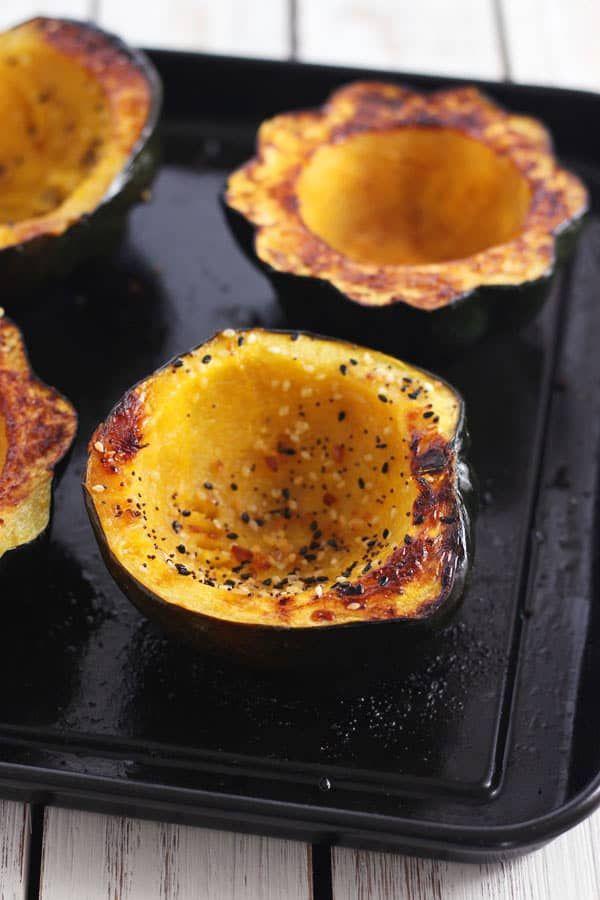 Toaster Oven Acorn Squash Bowls Recipe Toaster Oven Recipes