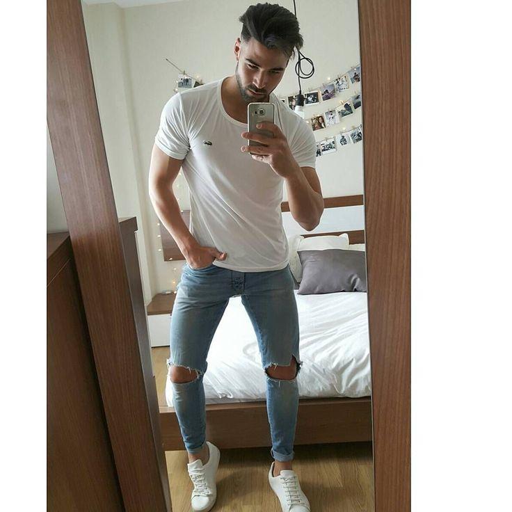 Skinny jeans for men #jeans #men #fashion for men #mensjeans2017