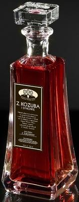 """Cranberry Nalewka Cordial Z. Kozuba i Synowie """"Nalewka z Zurawiny"""" Traditional Polish Liqueur"""