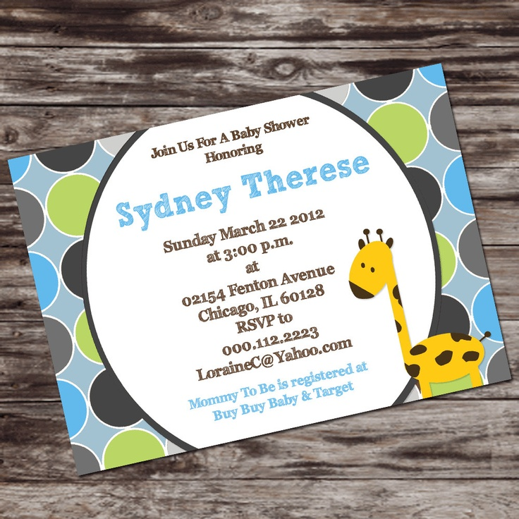 clever baby shower invitation wording%0A Printable Baby Boy Shower Invitation  Personalized Digital Design   Customize         via Etsy
