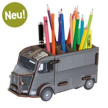 Werkhaus Shop - Stiftebox Citroen HY - Grau