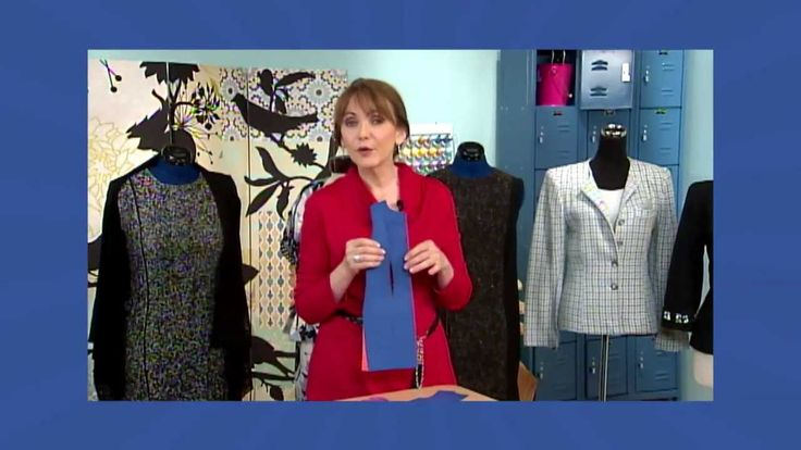 601-2 Fit expert Peggy Sagers demonstrates the classic sheath dress on It's Sew Easy
