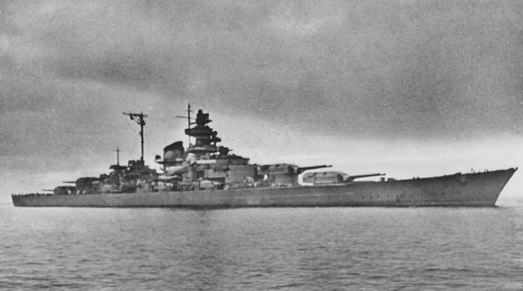 Tirpitz Norway Narvik 1942