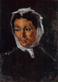Portrait of the Artist's Mother by Paul Cezanne, 1866-67   Famous Artists Paint Their Mothers