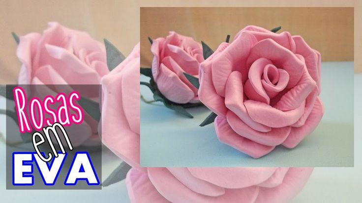 Rosas em EVA   SEM MODELADOR