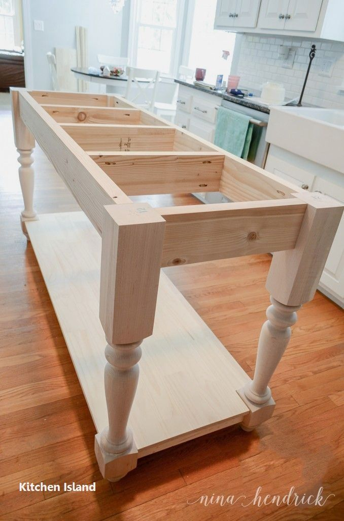 DIY Guide For Making A Kitchen Island 1 \
