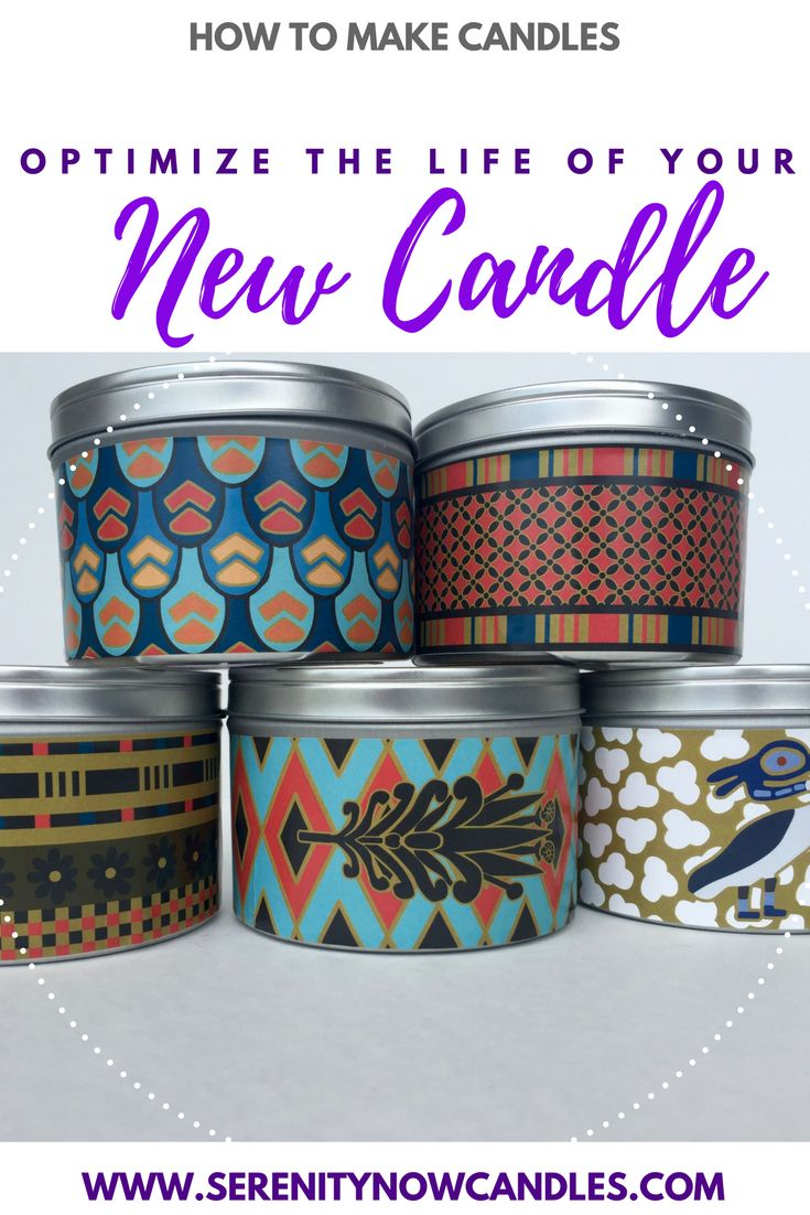 Serenity Now Candles: How to Optimize the Life of Your New Candle