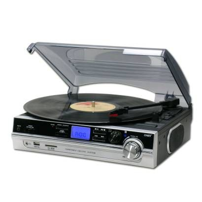 Buy Steepletone ST929R Record Player with USB / SD Card Recorder - Soundstore Ireland
