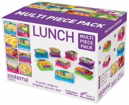 Lunch 16 Piece Pack