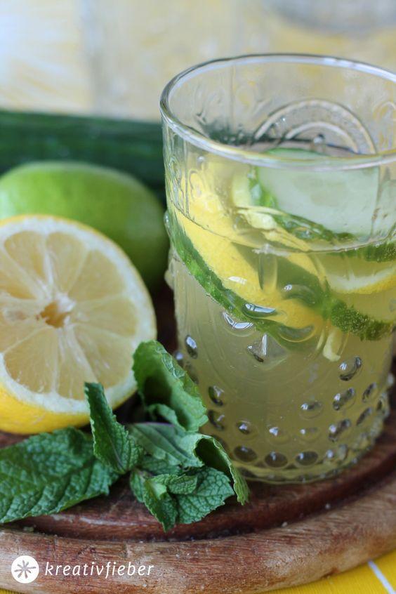 gin cocktail | gin mit gurke und zitrone
