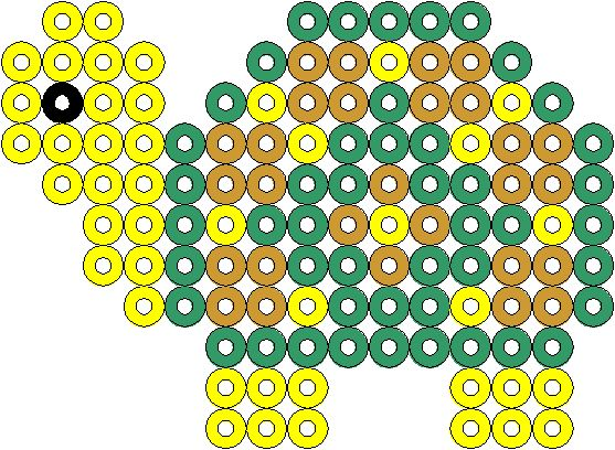 Schildkröte - Turtle - hama beads