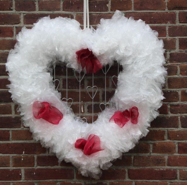 Groot decoratief valentine hart