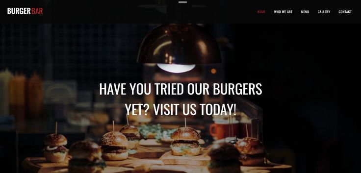 Show off your exquisite menu and your restaurant ambiance with our delicious website templates