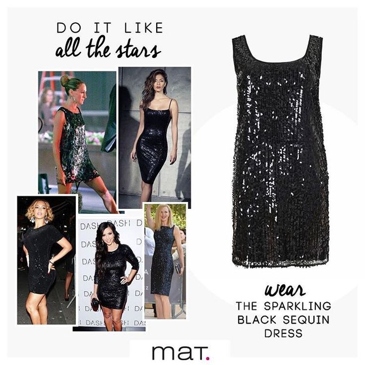 Λαμπερές εμφανίσεις των stars στο κόκκινο χαλί ... φορώντας μαύρα sequin φορέματα! Φέτος τις γιορτές φόρεσε και εσύ το #matfashion φόρεμα με eye-catching παγιέτες και εντυπωσίασε! Ανακάλυψέ το στα αποκλειστικά καταστήματα ή βρες την πολύχρωμη version στο eShop! [codes: 661.7213 & 661.7208] #matXMas ✨