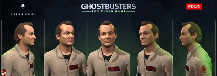 ArtStation - Ghostbusters the Video Game - Peter Venkman, Ian McIntosh