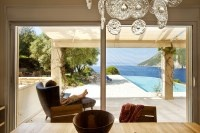 Akrothea - luxury seafront villa with pool in Meganissi, Greece