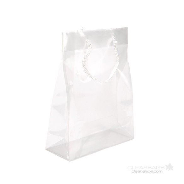 Clear gift bags 25 pinterest buy translucent colored gift bags 8x10x3 clear with rope handle negle Image collections