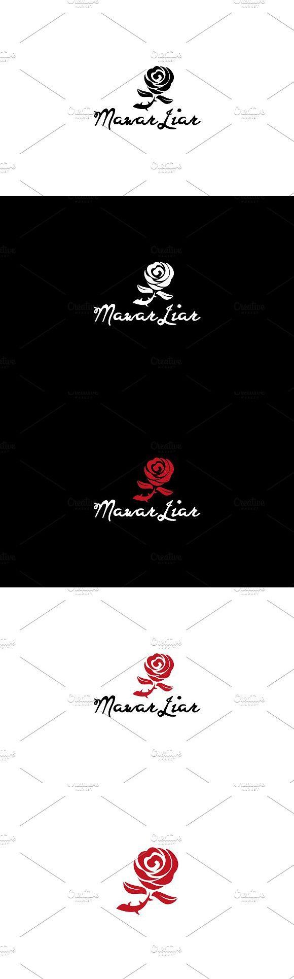 Mawar Logo : mawar, Mawar, Graphic, Design,, Logos,, Design