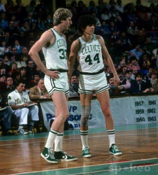Larry Bird and Pistol Pete only played together for a part of one ...