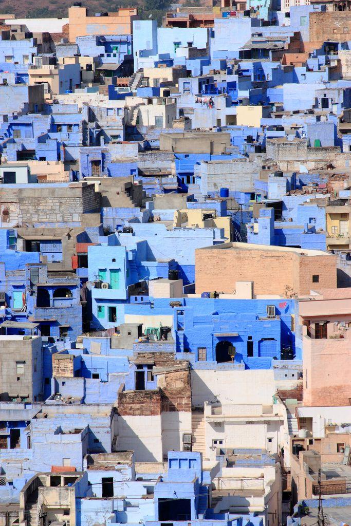 The Blue City, Jodhpur, Rajasthan
