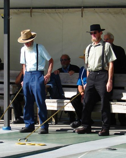 Amish Shuffleboard Pinecraft Florida Sarah S Country