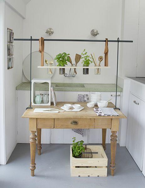 Tafelklem 39 toon 39 antraciet leuk voor in de keuken klassieke landelijke keukens pinterest - Deco design keuken ...