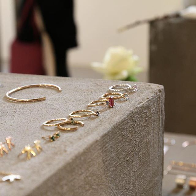 The Jewellery Room at  Copenhagen Fashion Week, Feb 2016. Fine jewellery by mumbaistockholm