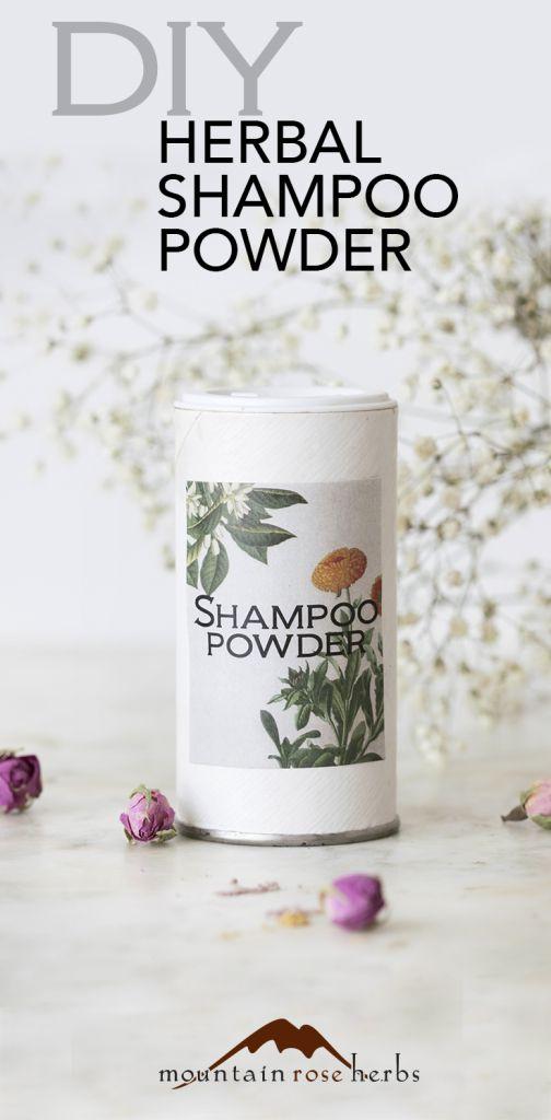 DIY Herbal Dry Shampoo Powder Recipes: Rosemary Cocoa  Oatstaw LAVENDER & SWEET ORANGE SHAMPOO POWDER   Mountain Rose Herbs