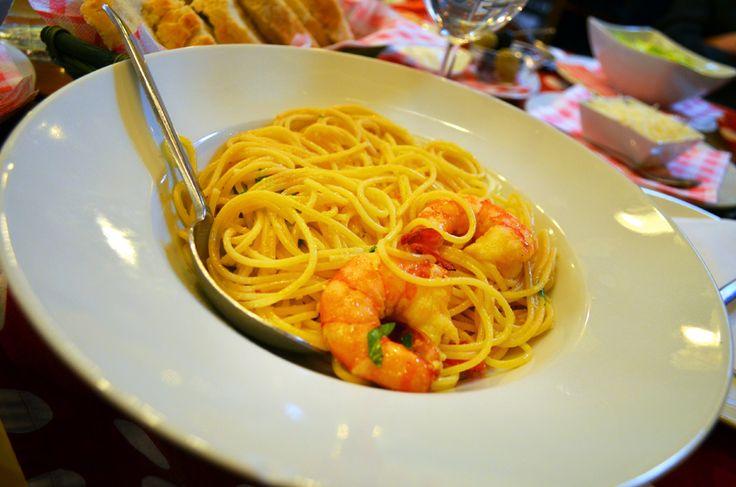 Spaghetti all' Gamberi