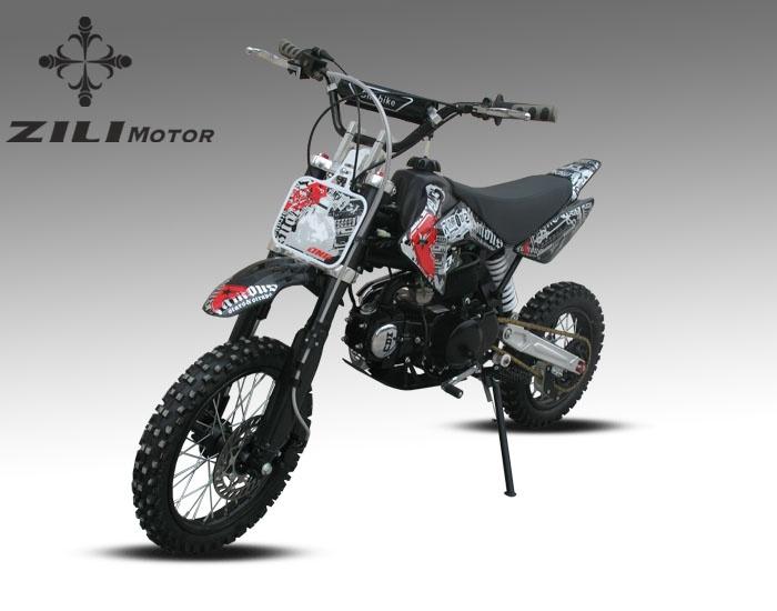 Chinese Zili Motors 125cc pitbike ZLD125-5A