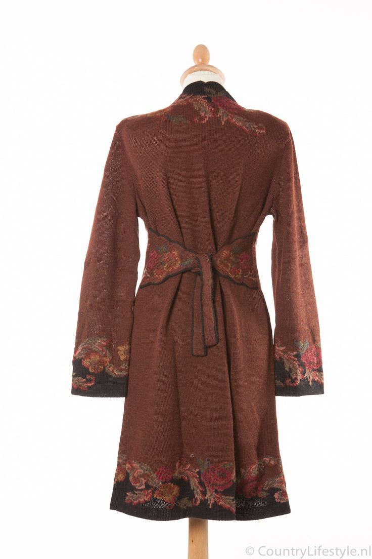Galeria Araña: Il Roseto coat Arana, alpaca wool