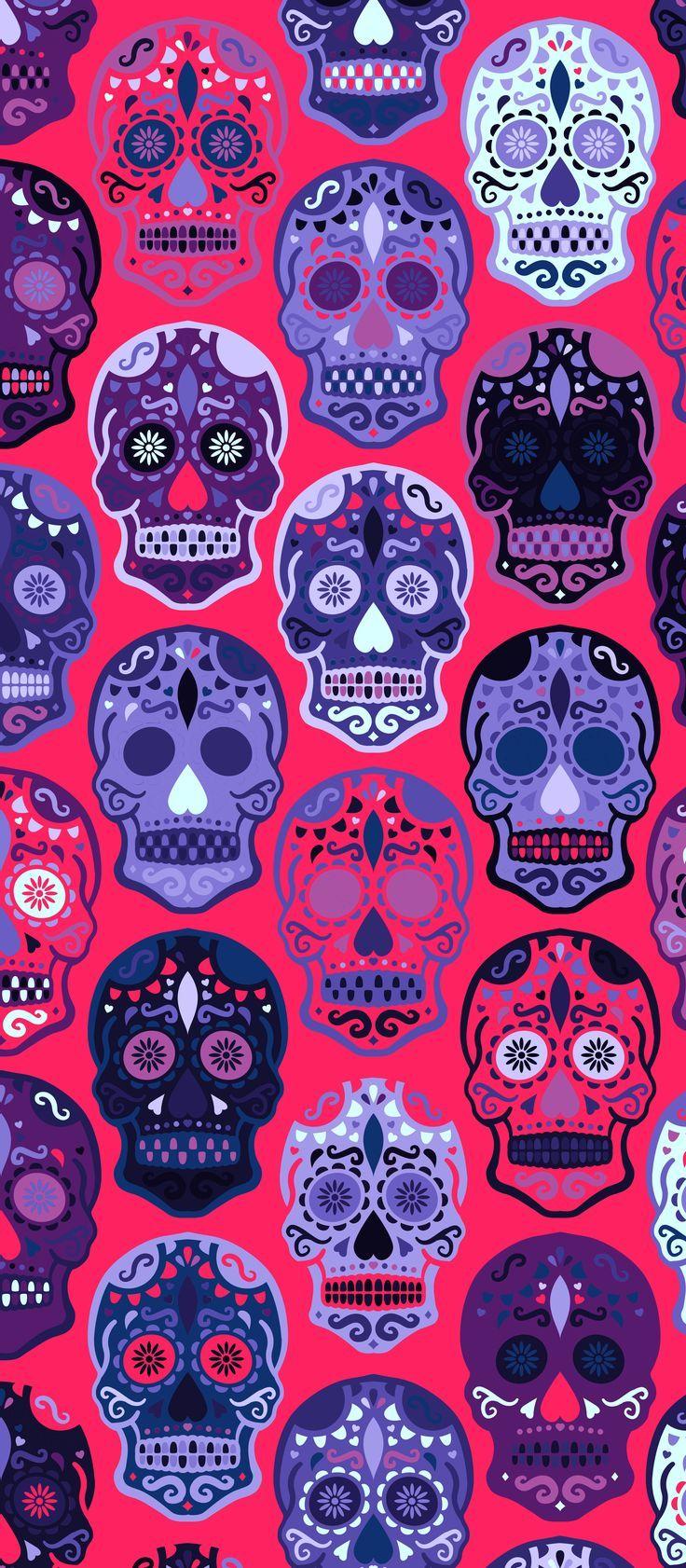 Skull iPhone X Wallpaper 297096906665133994   Patterns
